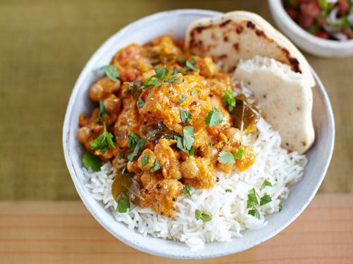 Rice, Dahl & 3 veg